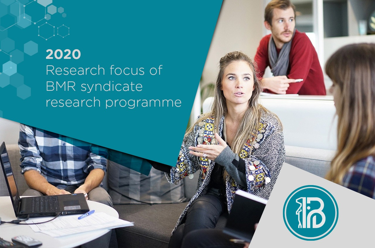 2020 Research focus of BMR syndicate research programme