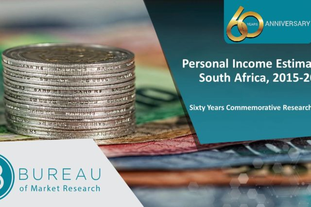 PERSONAL INCOME ESTIMATES FOR SOUTH AFRICA: Trends for the past five years and possible outcomes for 2020