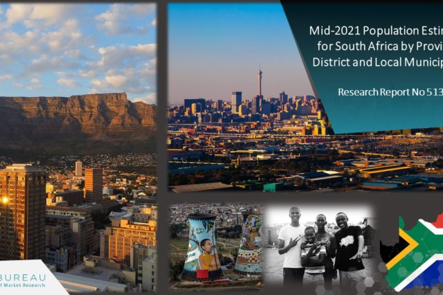 MID-2021 POPULATION ESTIMATES FOR SOUTH AFRICA BY PROVINCE,  DISTRICT AND LOCAL MUNICIPALITY